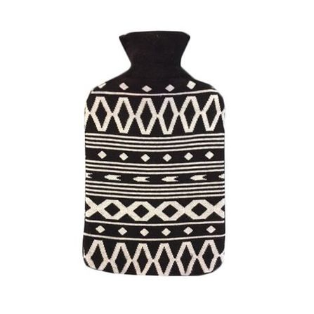 Collegien AW19 Ohrievacia fľaša Čierno-Biela