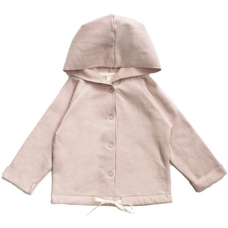 Gray Label AW17 Mikina s kapucňou pre bábätká Ružová