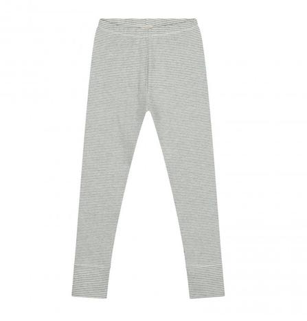 Gray Label AW19 Legíny Prúžkované Sivo-Krémové