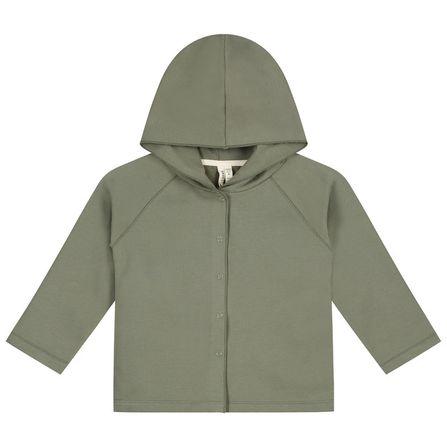 Gray Label AW19 Mikina s kapucňou machovo-zelená