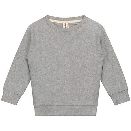 Gray Label AW19 Mikina s okrúhlym výstrihom sivá