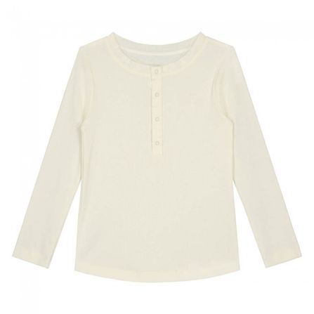 Gray Label AW19 Henley Spodné prádlo - tričko s dlhým rukávom krémové