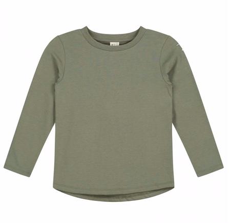 Gray Label AW19 Tričko s Dlhým Rukávom Machovo-Zelené