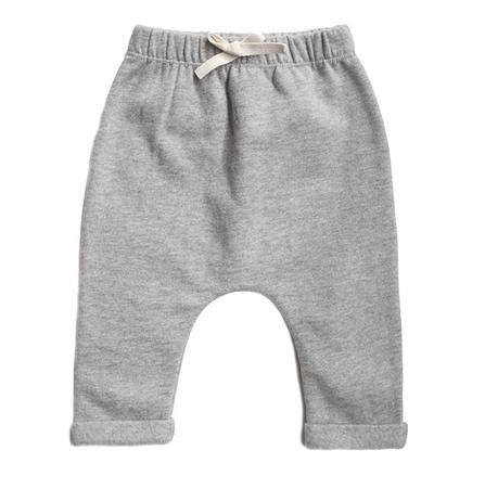 Gray Label SS19 Baby Nohavice Sivé