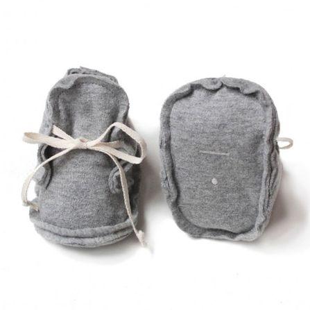 Gray Label AW18 Prvé Topánočky Sivé