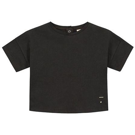 Gray Label SS18 Oversize Tričko Takmer Čierne