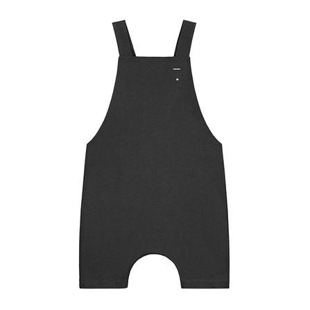 Gray Label SS19 Krátke Nohavice s Trakmi Takmer čierne