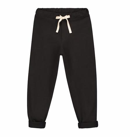 Gray Label SS19 Nohavice Voľného Strihu Takmer Čierne