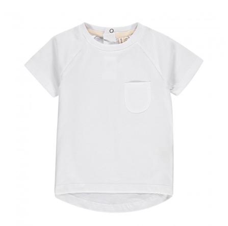 Gray Label AW18 Tričko s Krátkym Rukávom Biele
