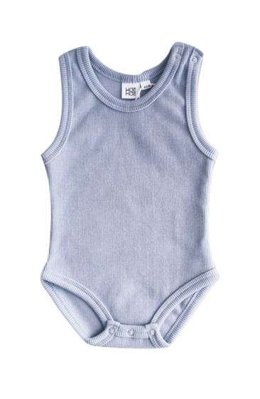 KaiKai Body Tielko pre bábätká bledomodré