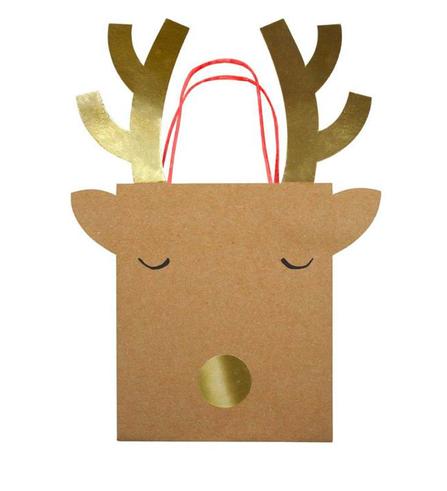 Meri Meri AW19 Darčeková taška Reindeer