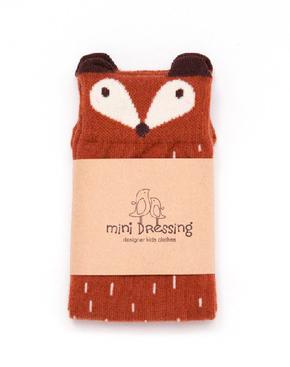 Mini Dressing Podkolienky Fox Hnedé