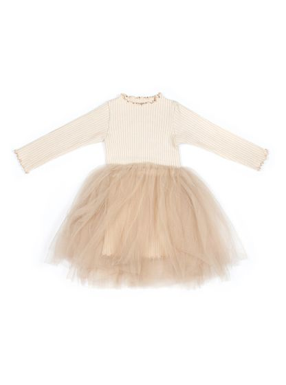 Mini Dressing Sharr Šaty Krémové