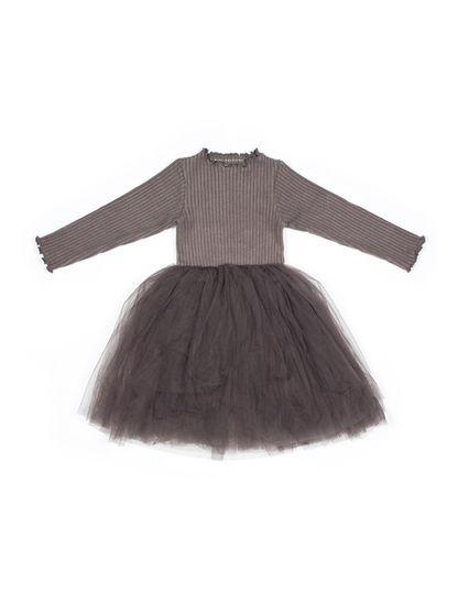 Mini Dressing Sharr Šaty Šedé
