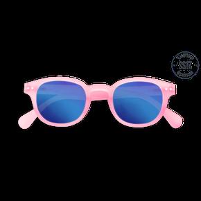 Izipizi #C Junior Sun Ružové so zrkadlovými sklami