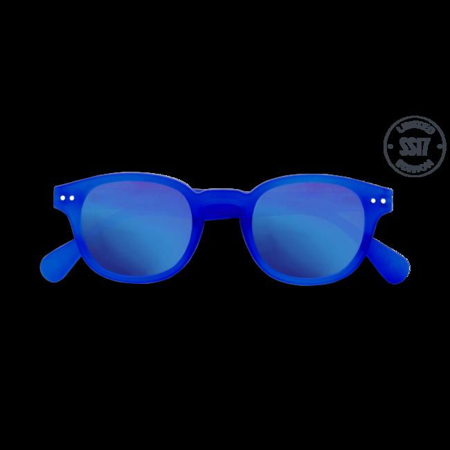 Izipizi #C Junior Sun Modré so zrkadlovými sklami