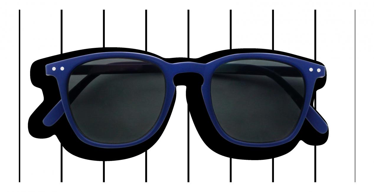 Izipizi #E Junior Sun Modré